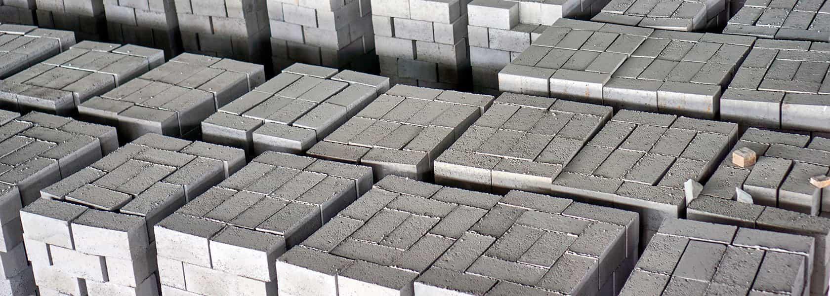 Склад полнотелых блоков