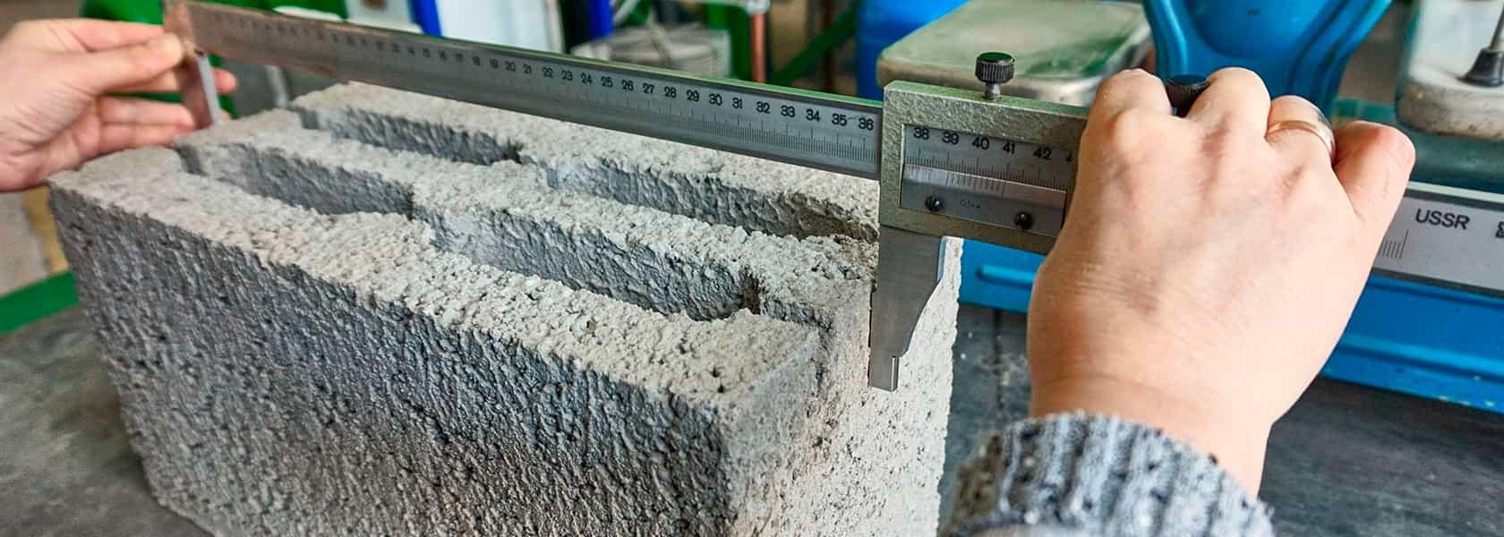 Блок с усиленными стенками