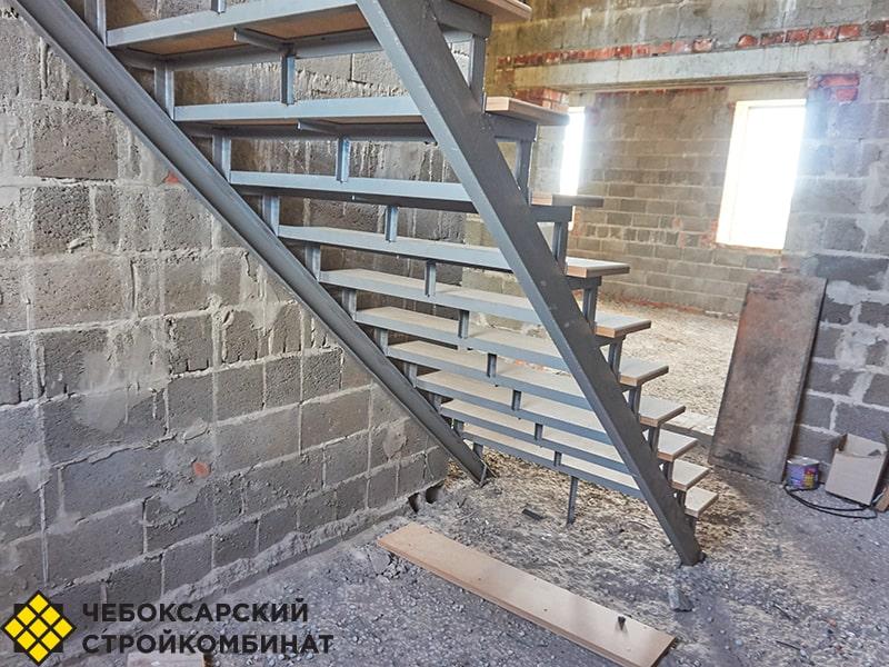 Устройство лестницы в частном доме