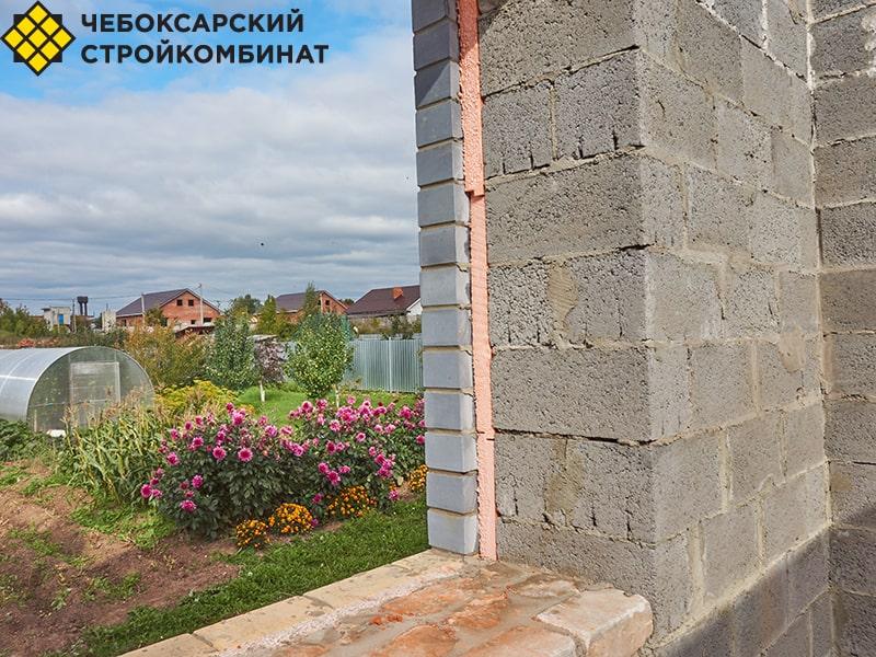 Толщина стены из керамзитобетона