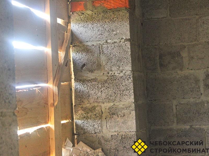 Толщина стены из керамзитоблоков